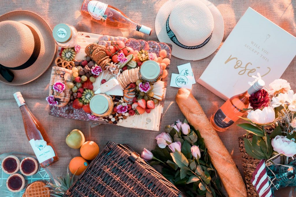 Will You Accept This Rose Days of Rose Gift Box - Deluxe Grazing Spread Gold Coast Brand Marketing