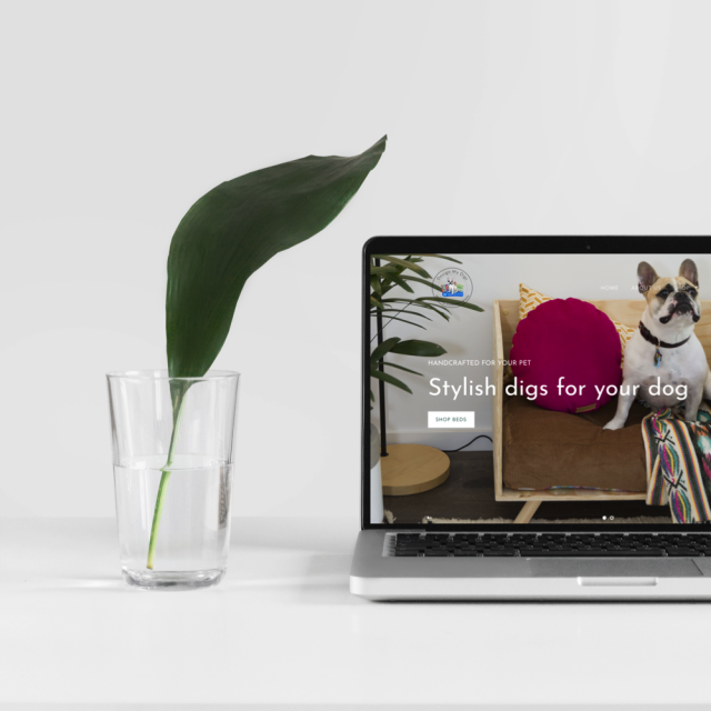 Design My Digs | Web Design Portfolio | Little Palm Creative Co.