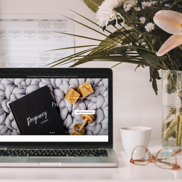 Belle & Grace Boutique Shopify Redesign