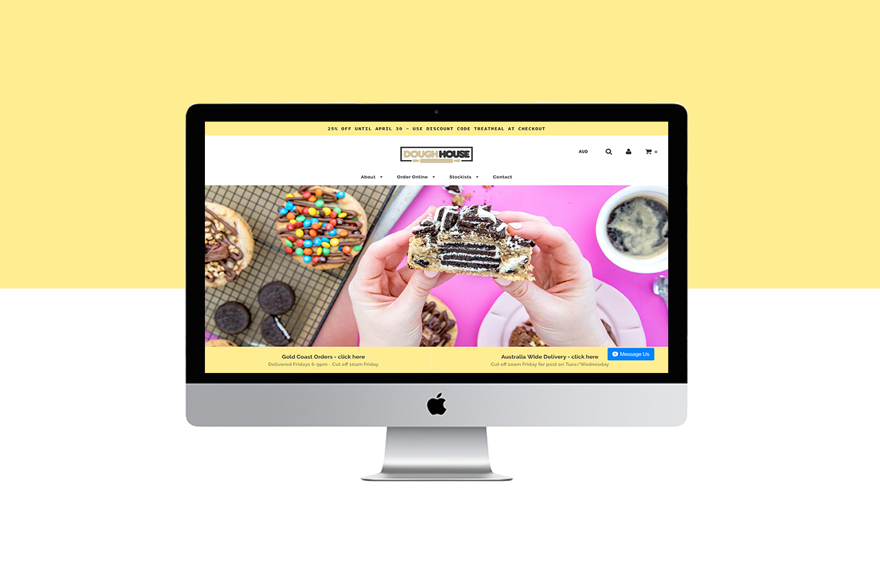 Doughouse Gold Coast Website Redesign Shopify Little Palm Creative